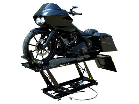 重型mo托车升降机